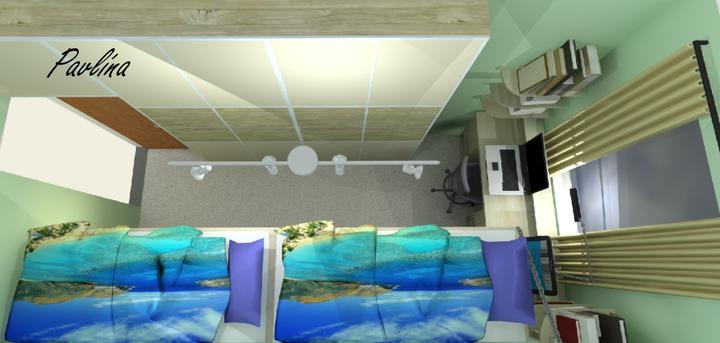 Vizualizácie - rôzne - izba našich chalanov