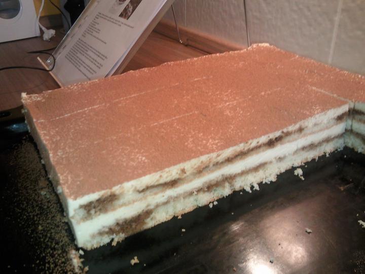 Moja vysnívaná kuchyňa - Tiramisu k nedeľnému obedu (hádam bude dosť pre všetkých) :-D