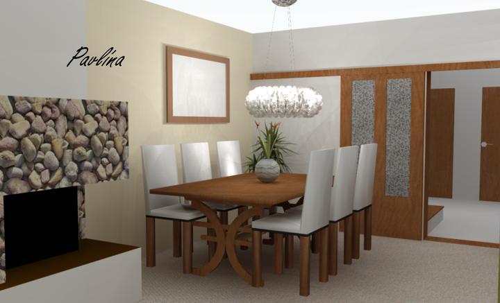 Vizky pre náš ešte nepostavený dom :-) - jedáleň