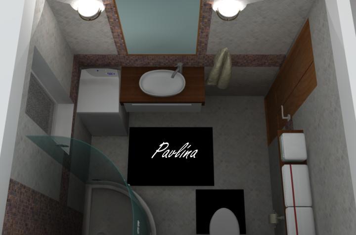 Vizky pre náš ešte nepostavený dom :-) - malá kúpeľňa na prízemí