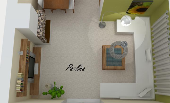 Vizky pre náš ešte nepostavený dom :-) - obývacia časť