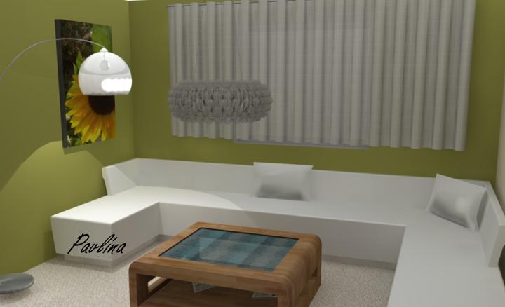 Vizualizácie - rôzne - Obývacia časť