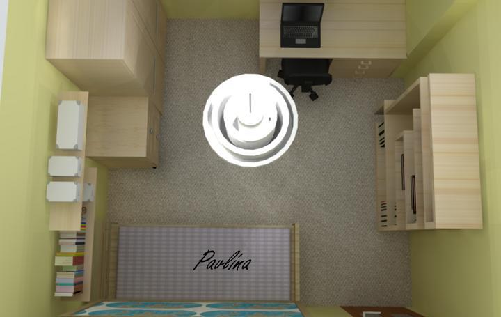 Vizky pre náš ešte nepostavený dom :-) - jedna izba pre študenta