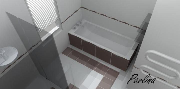 Vizualizácie - rôzne - celo-sklenený sprchový kút