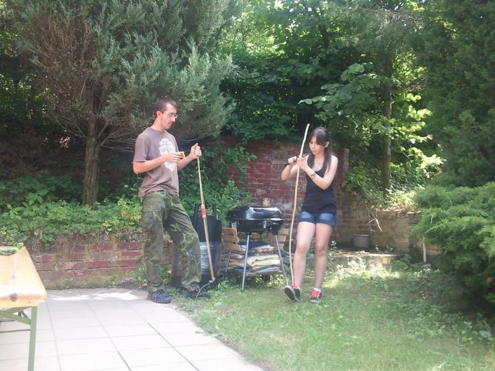 Príbeh našej záhrady/chatky, príp. čo sa mi páči - naša divožienka :-)