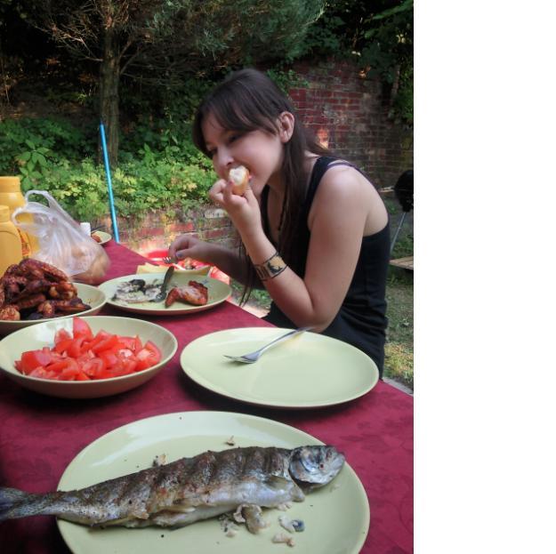 Príbeh našej záhrady/chatky, príp. čo sa mi páči - hladná teda bola za dvoch chlapov :-D :-D