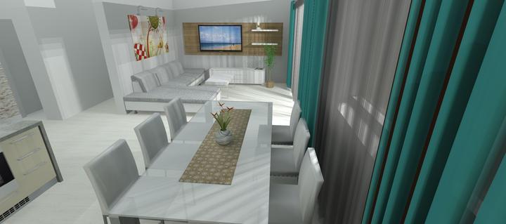 Vizualizácie - rôzne - TV na inej stene, vymenená sedačka (nie princezná :-D )
