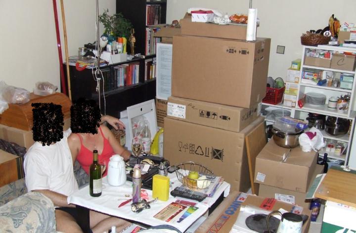 Moja vysnívaná kuchyňa - takto to u nás vyzeralo počas rekonštrukcie kuchyne :-D niiič nám nechýbalo :-D foto pre bejby29 a spol. :-D