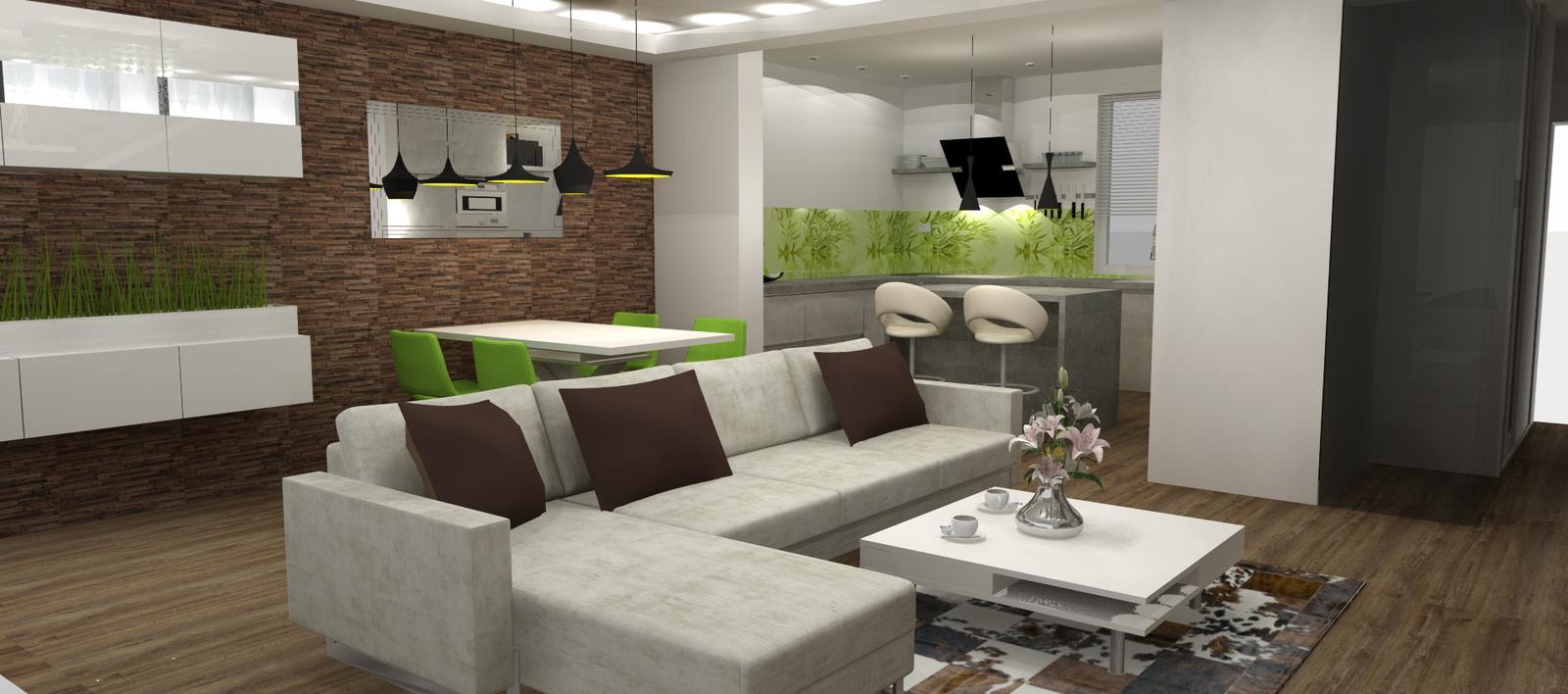Obývačko-kuchyne I. - Obrázok č. 183