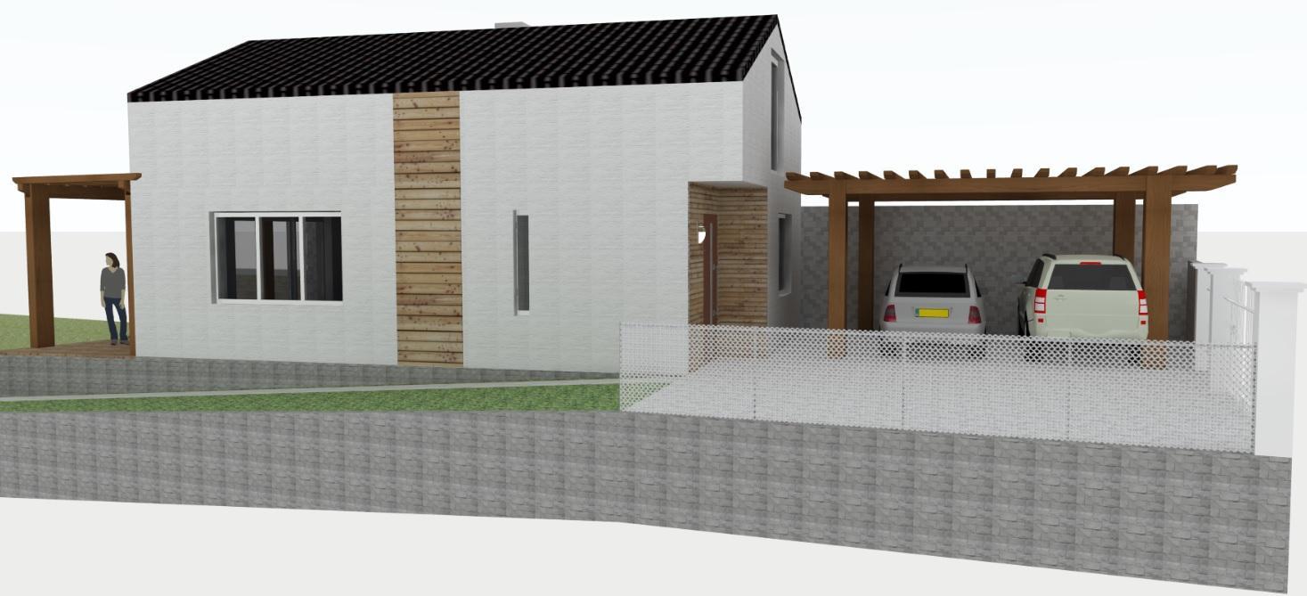 Vizky pre náš ešte nepostavený dom :-) - tak som sa včera konečne opäť venovala nášmu projektu
