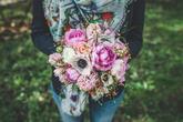 Svatební jarní kytice - miniseriál s Natural Flowers, foto Ondřej Kaftan