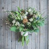 Svatební zimní kytice - miniseriál s Natural Flowers, foto Ondřej Kaftan