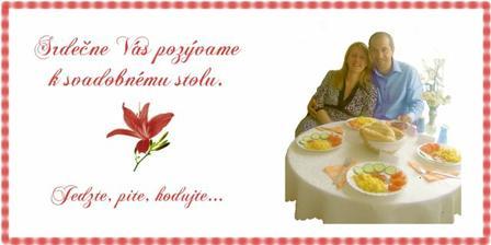 pozvanie k stolu, taktiež samovýroba...