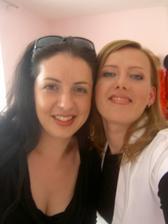 prvá skúška makeupu s vizážistkou Maťkou z Mary Kay