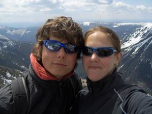 Spolu na Sněžce-4.5.2008-den po zásnubách
