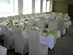 naše svatební hostina