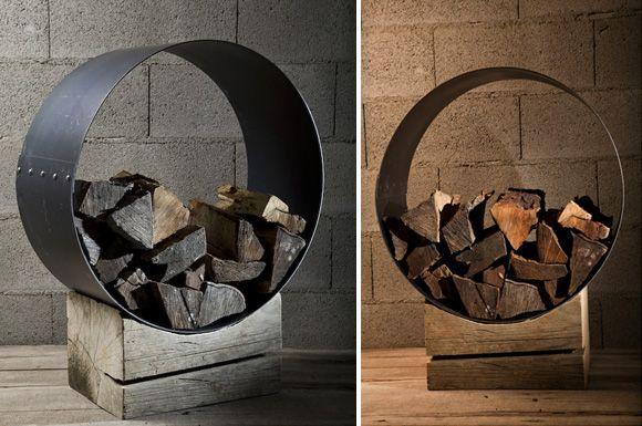 Ako skladovať drevo v interiéri domu.... - Obrázok č. 13