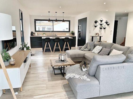 Kuchyňa s obývačkou - inšpirácie - Obrázok č. 9