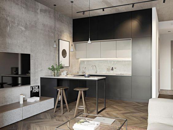 Kuchyňa s obývačkou - inšpirácie - Obrázok č. 17