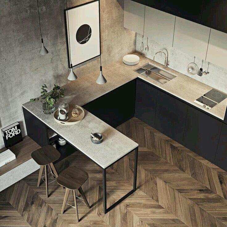 Kuchyňa s obývačkou - inšpirácie - Obrázok č. 19