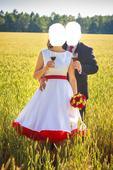 RETRO svatební šaty , 38