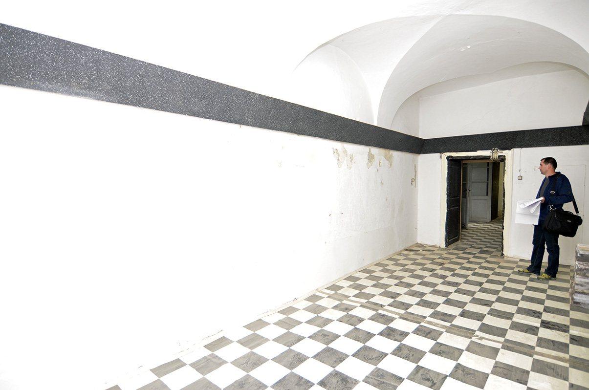 Rekonštrukcia kúrenia v historickej budove - Takto vyzerali priestory pred rekonštrukciou...