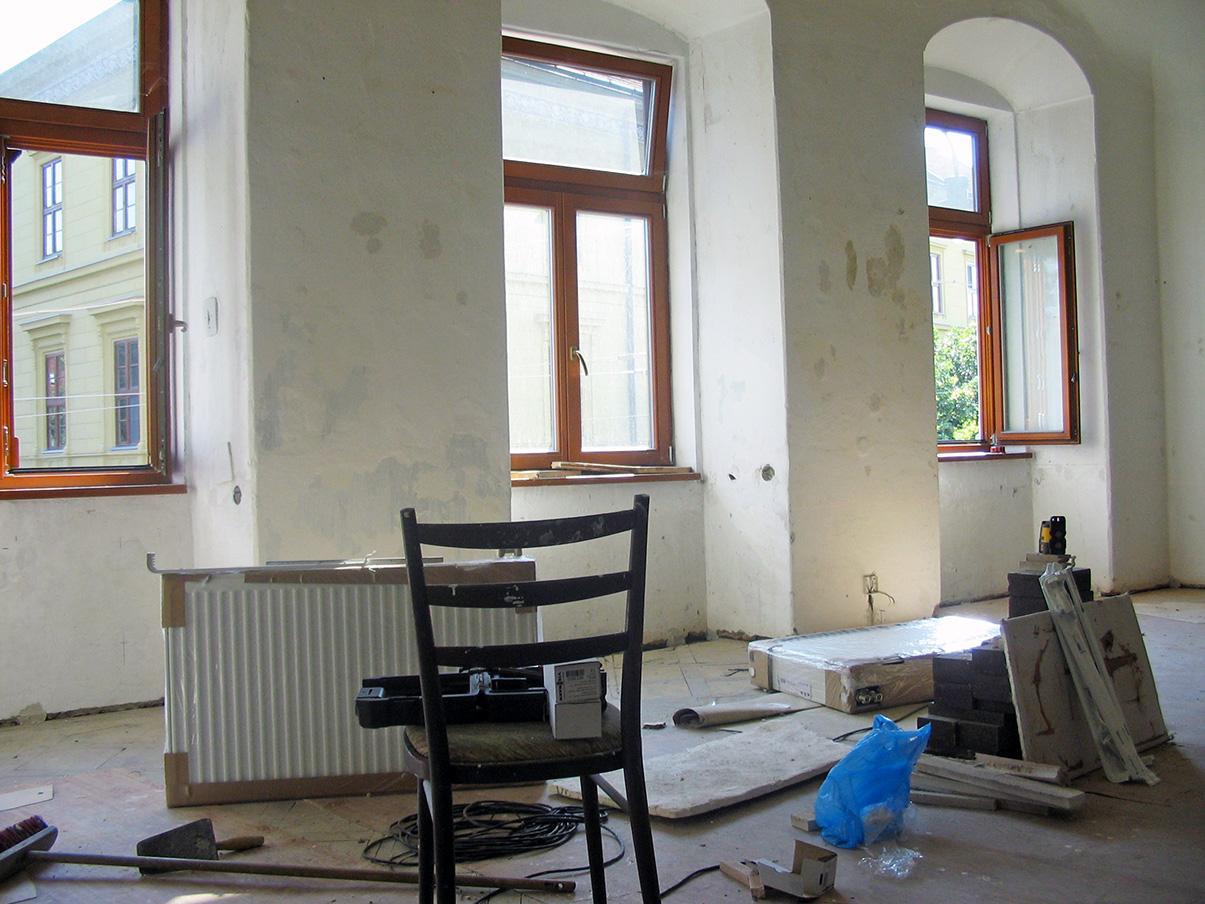 Rekonštrukcia kúrenia v historickej budove - Obrázok č. 13