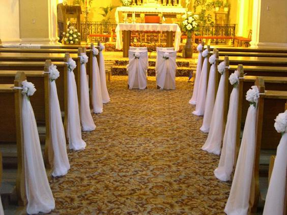 Zeleno-biela - takto v kostole