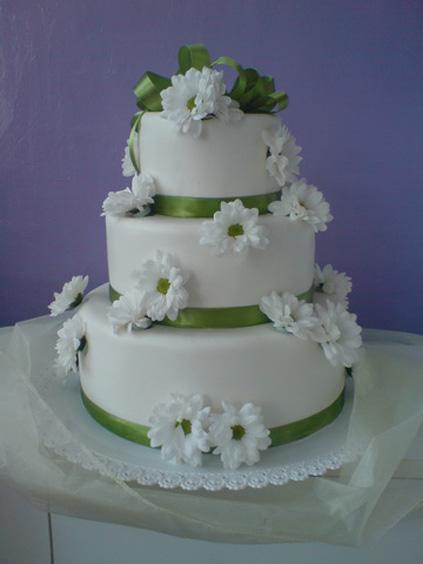 Zeleno-biela - tato torticka
