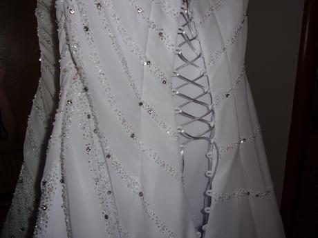 Svatební šaty vel.40 - Obrázek č. 2