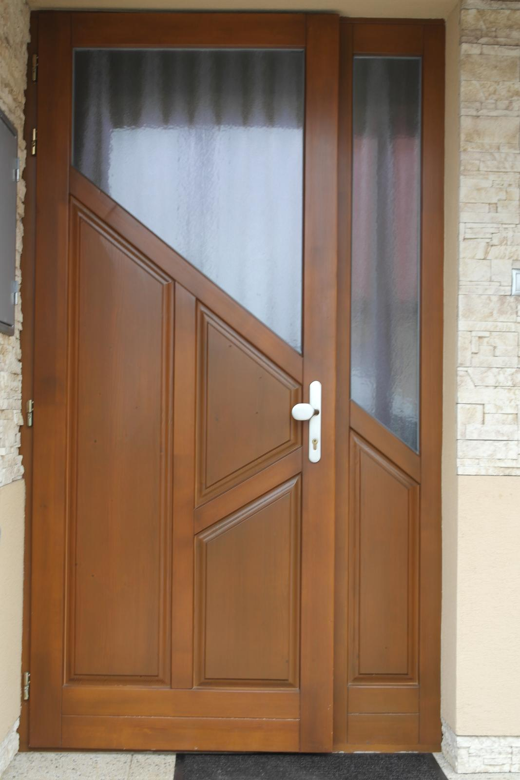 Vchodové dvere - Vchodové dvere profil 68mm cena 1230€ bez DPH