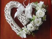 Srdce s ružami 32cm,