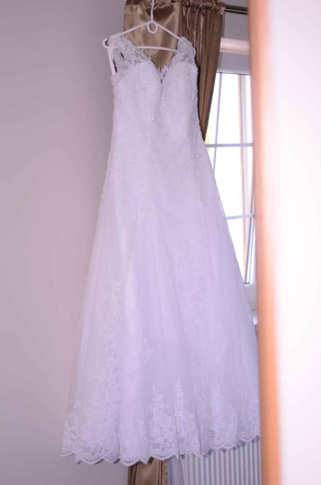 Svatební šaty vel. 40-44 - Obrázek č. 2