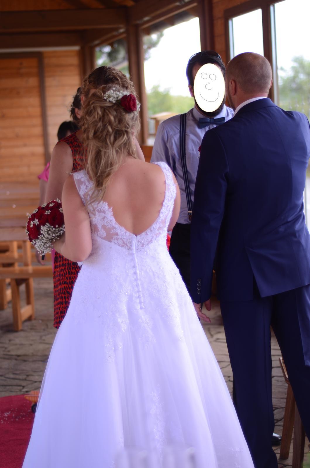 Svatební šaty vel. 40-44 - Obrázek č. 4