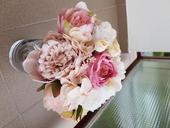 Svadobné umelé kytice,