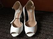 Pohodlné bílé botky, 38