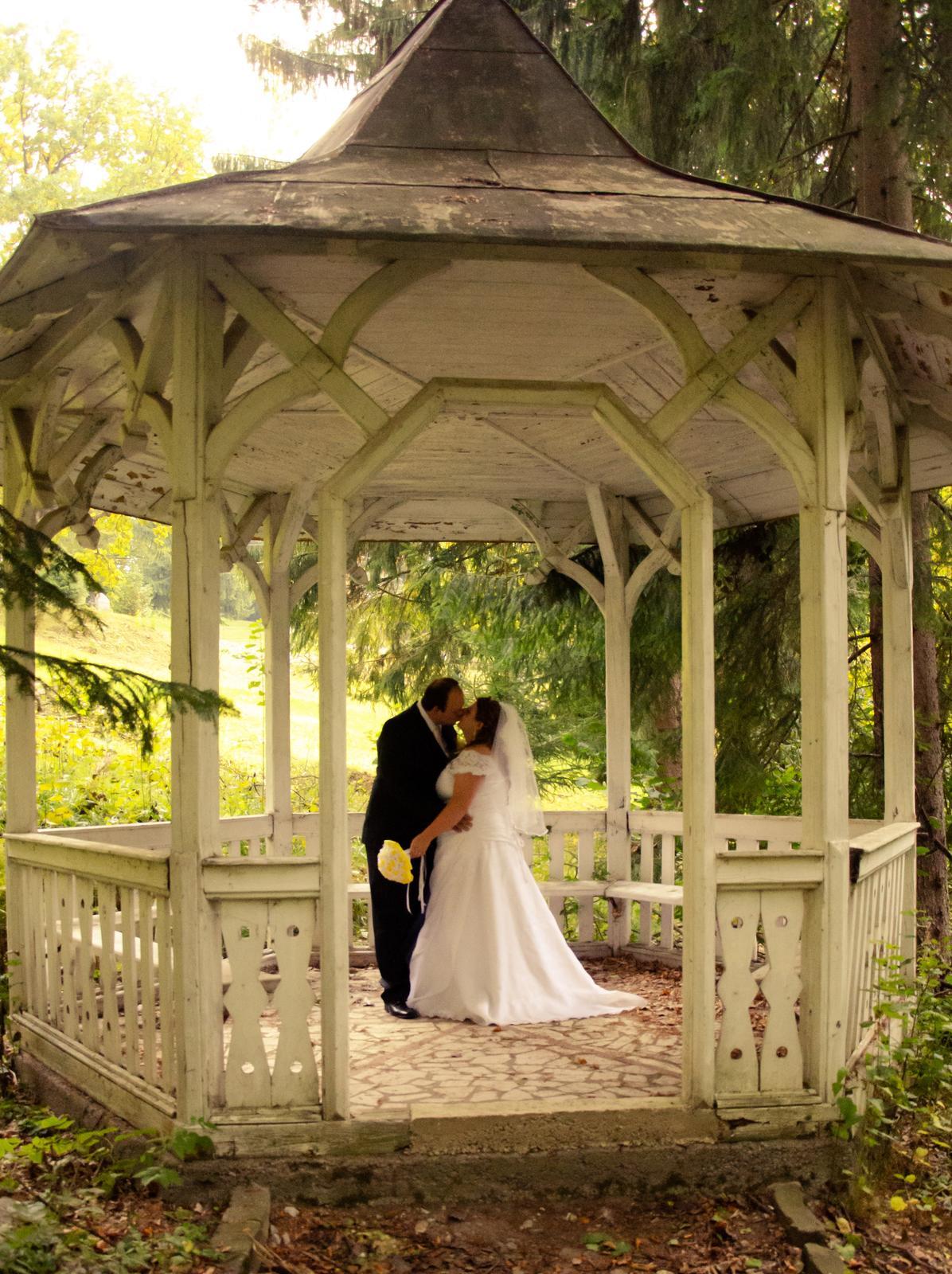 Svadobné šaty pre moletku 48-50-52 - Obrázok č. 4