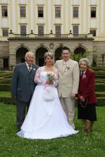 S děděčkem a babičkou