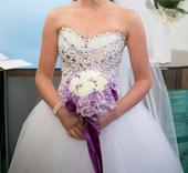 Snové svatební šaty šité na míru, 38