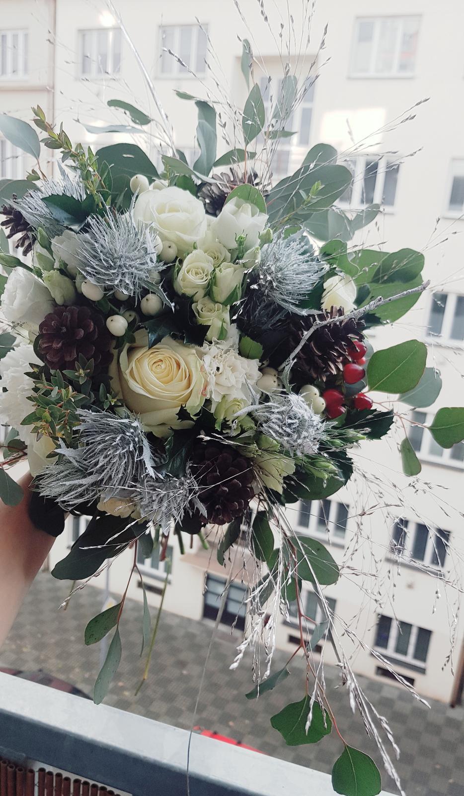 Nádherná zimní svatba v Krušných horách - Obrázek č. 1