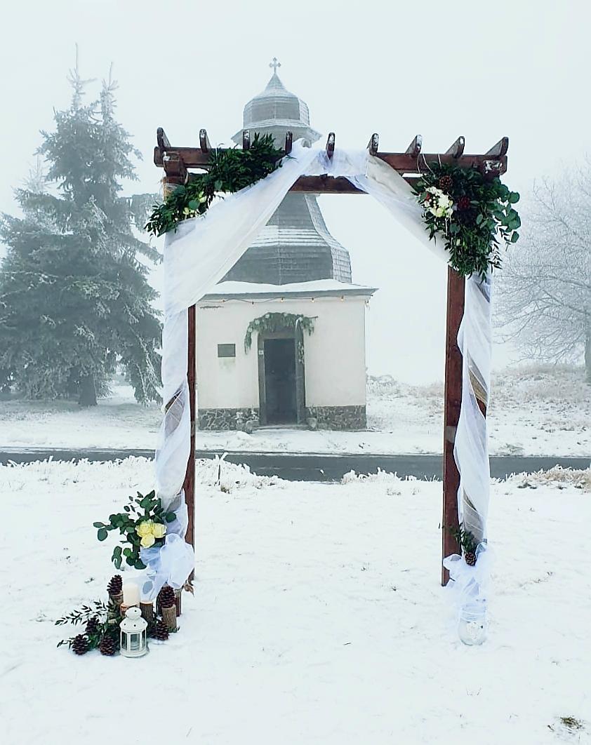 Nádherná zimní svatba v Krušných horách - Obrázek č. 2