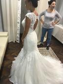 Svadobné šaty morská panna, 38