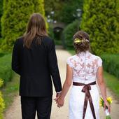 Romantické krajkové šaty velikost 38, 38