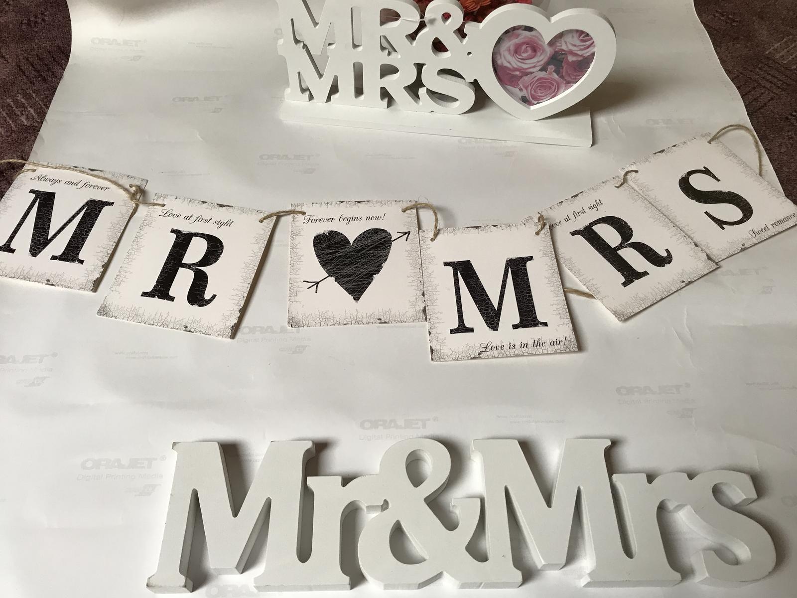 Svatební nápisy - Obrázek č. 1