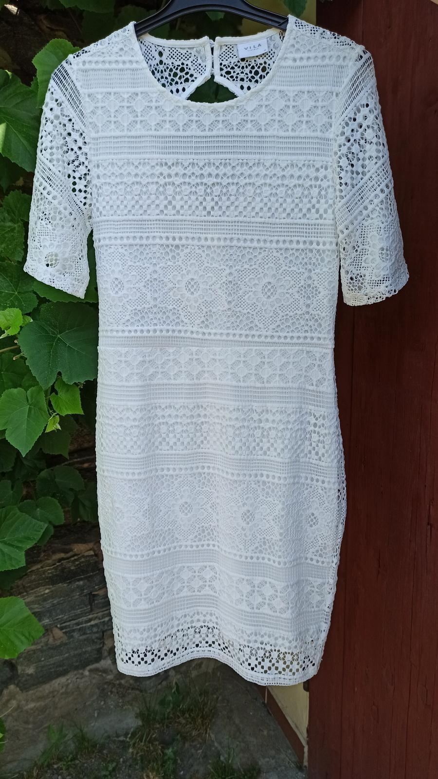 Bílé popůlnoční šaty - Obrázek č. 1