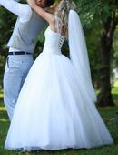 Svadobné šaty veľ. 34-38, 36