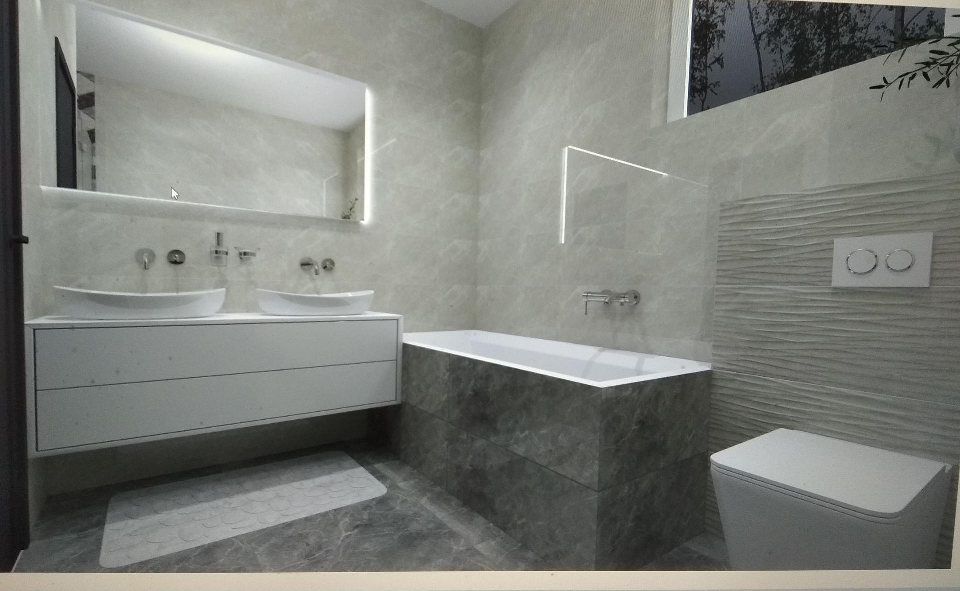 Takto nejako by mohli vyzerať naše kúpeľne a technická 🙂 - Obrázok č. 3