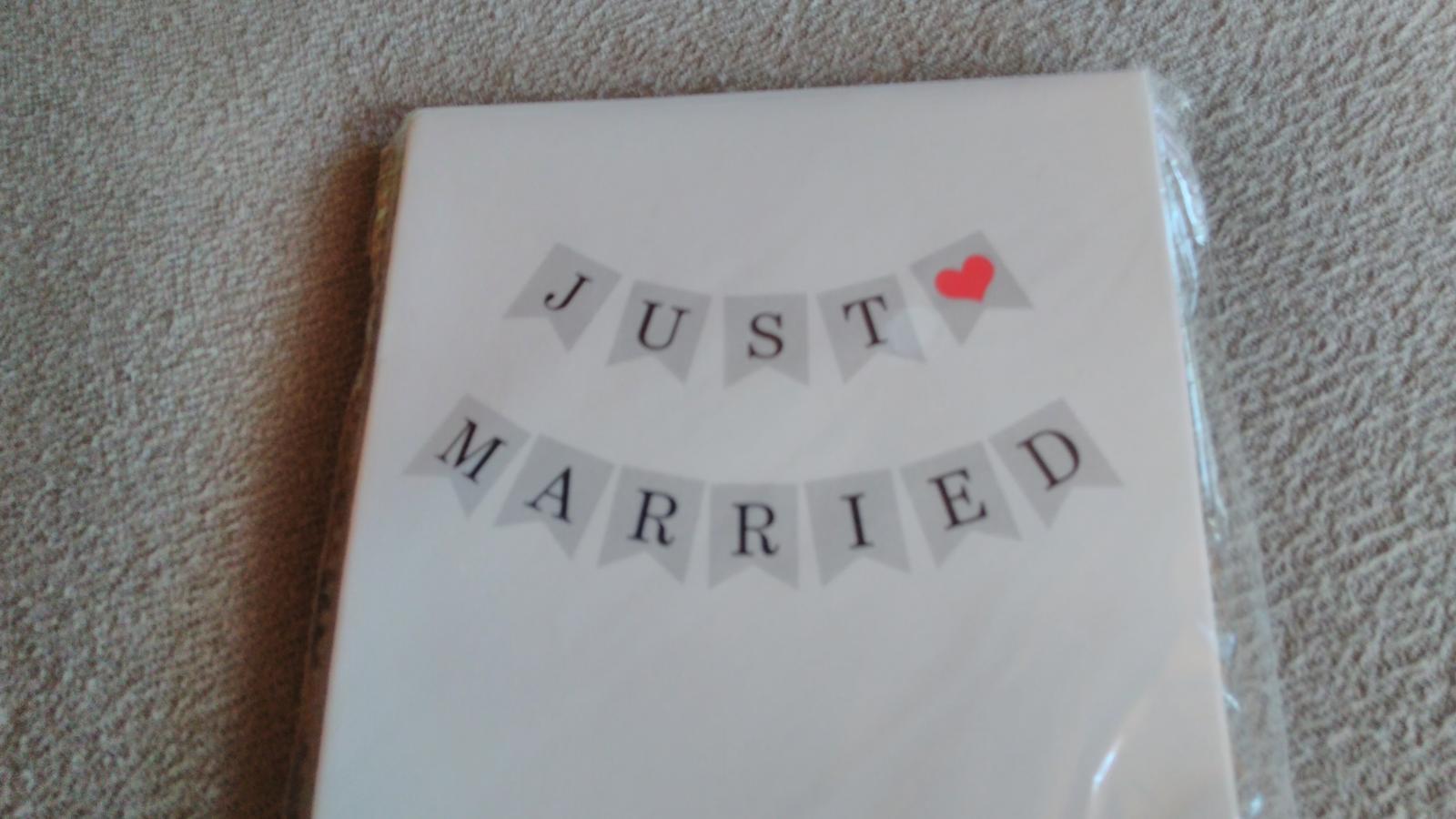 Just married 2ks. - Obrázek č. 1