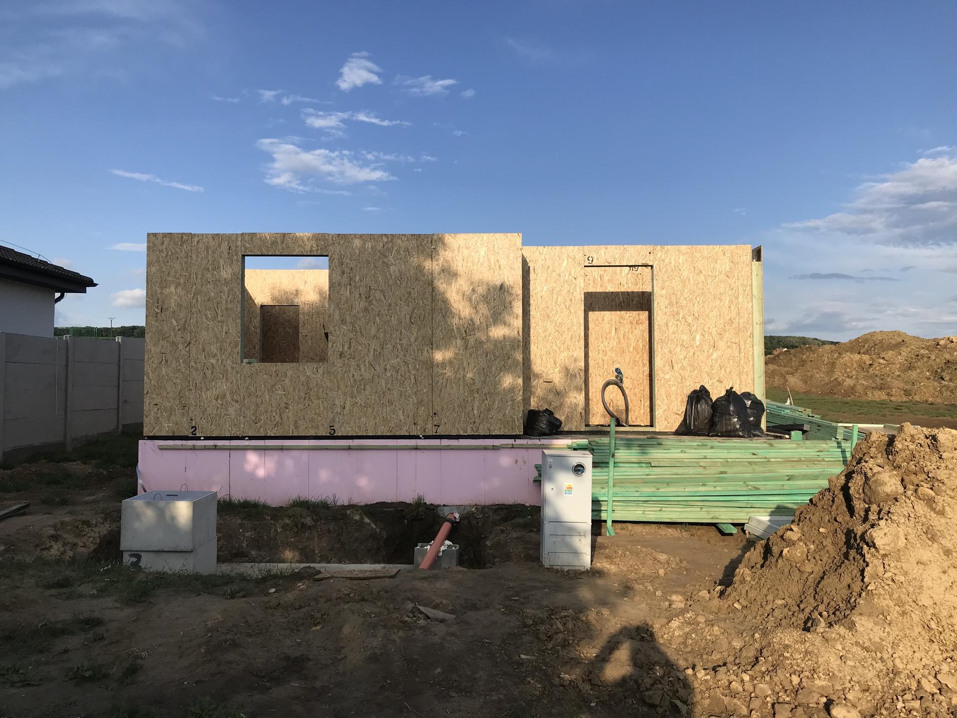 Step by step. GoldHouse montovaný dom :) - Obrázok č. 43