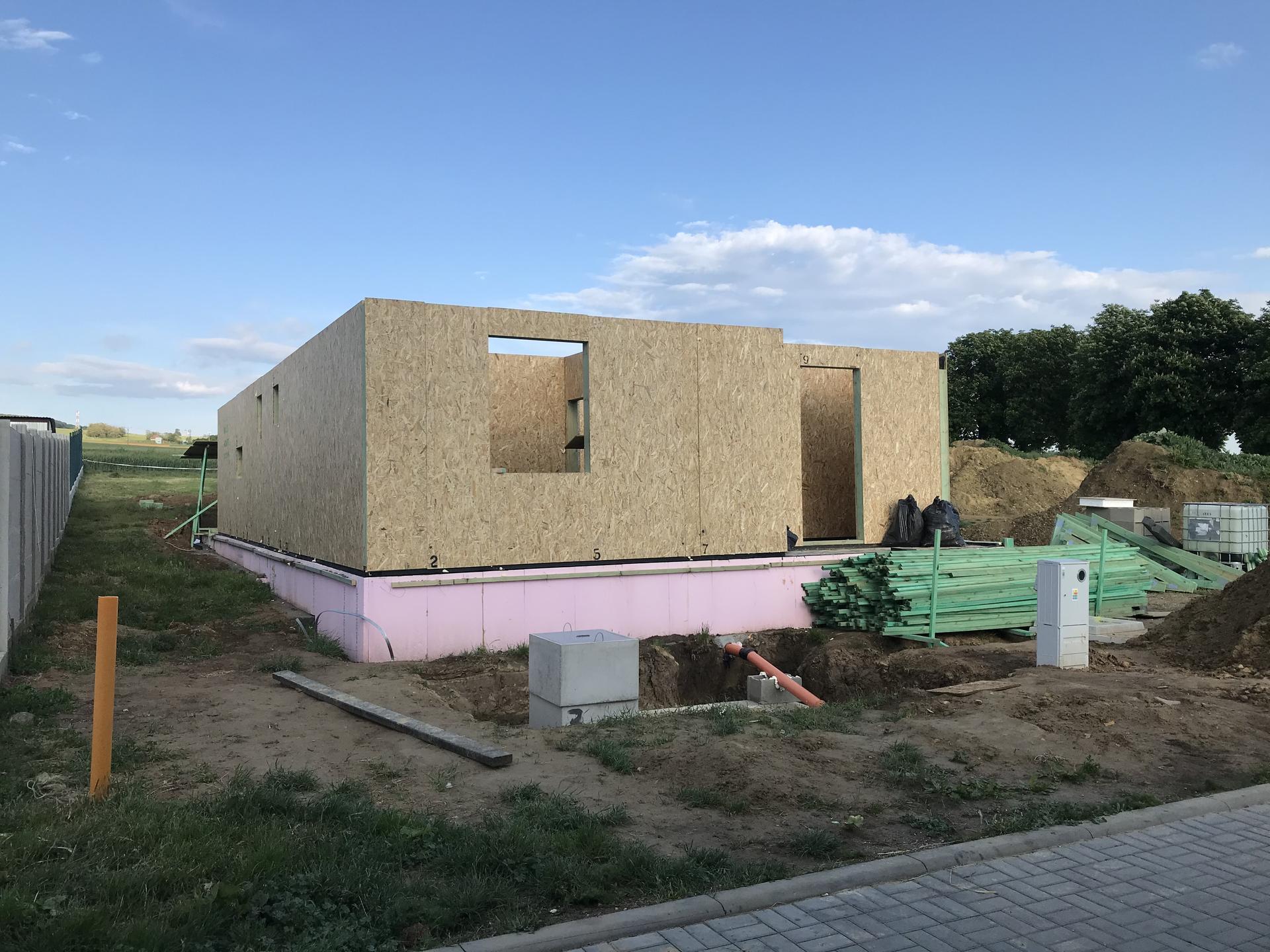 Step by step. GoldHouse montovaný dom :) - Obrázok č. 44
